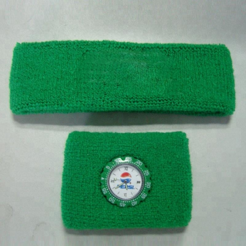 Katun terry gelang sweatband watch
