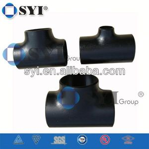 Aluminum Pipe Fittings Reducing Tee of SYI Group
