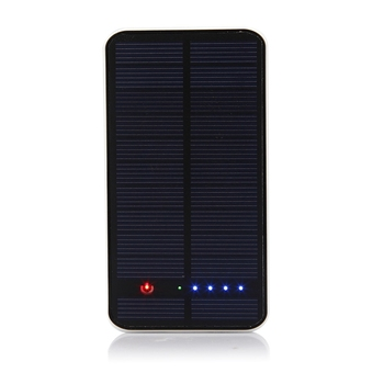 2018 Portable Solar Panel Power Bank With Power Indicator light