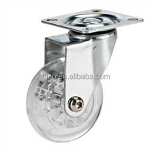 75mm Decorative Furniture Casters For Carpet