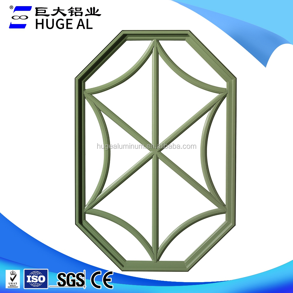 HUGE aluminum China supplier High quality hexagon windows for sale