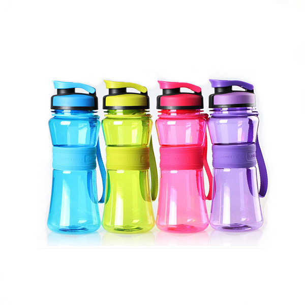 550ml Plastic Sport Water Bottle Cup Can Print Logo As Promotion Gift