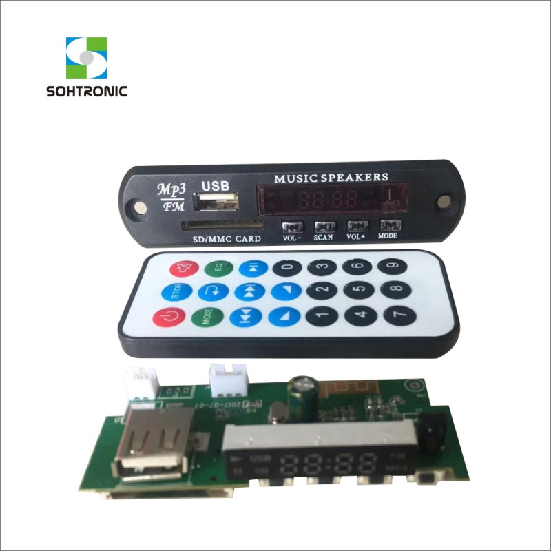 SOHTRONIC USB/SD FM RADIO <strong>MP3</strong> SOUND MODULE