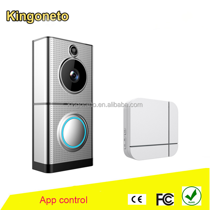 Cheap WiFi Video Door Bell with camers For Apartment House Building Villa with FCC CE ROHS