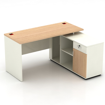 L Shape Mfc Modular Office Furniture