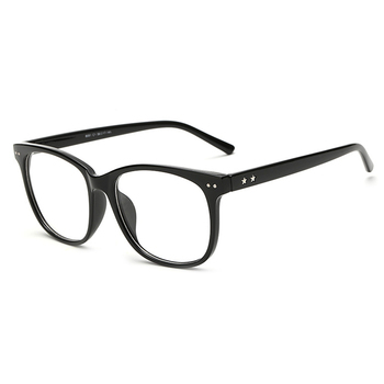 Vintage Clear Lens Eye Glasses Frames Men Women Transparent Fake ...