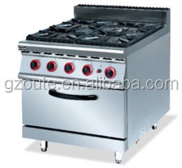 d4ebe9b00 China T Commercial Gas Range 4 Burner Gas Stove Cooker With Oven