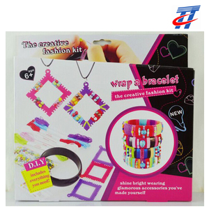 girls fashion bead toys DIY beauty set