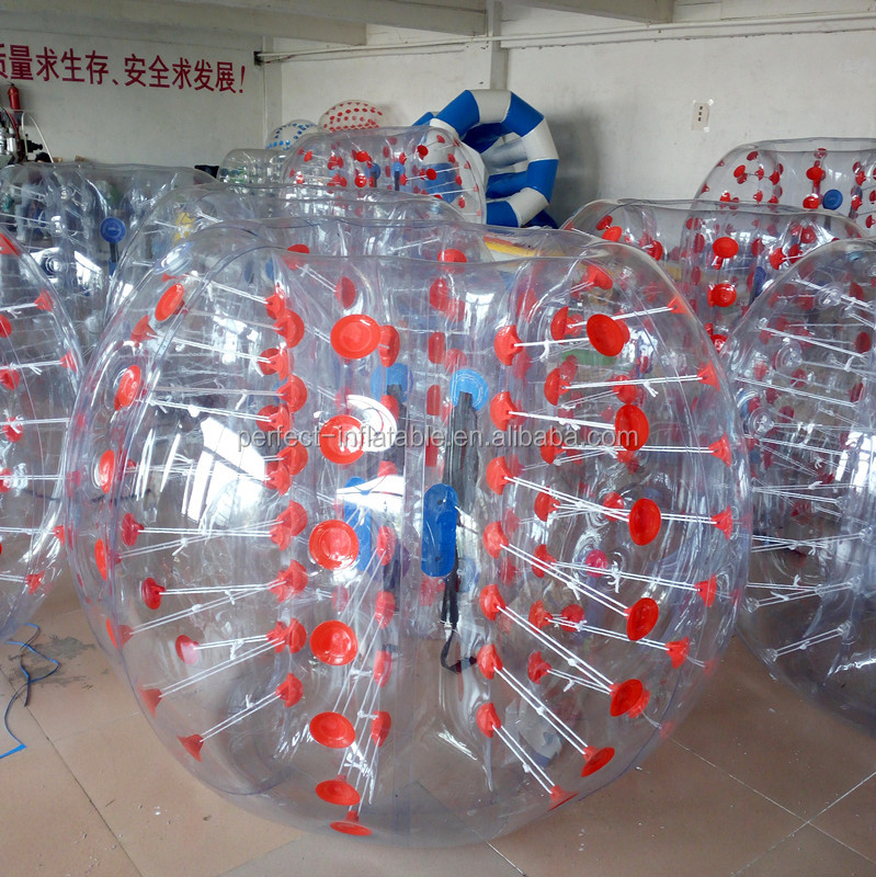Supply directly bumper ball for kids bubble soccer suits bumper ball games