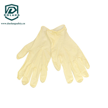 disposable set sterilized by EO with latex examination gloves