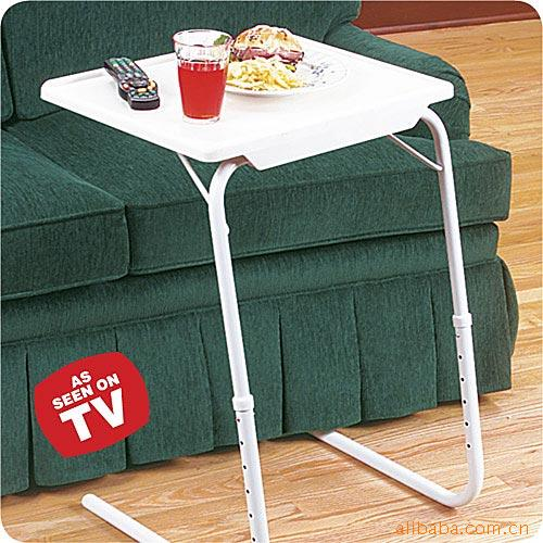 China Hot Sale Multi Function White Adjustable Folding Table Mate For Indoor and Outdoor Use