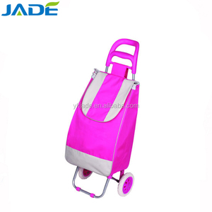 Promotional 2 Wheels Folding Shopping Trolley Bag Smart Cart,Wheeled Market Trolley Bag As seen on Taobao