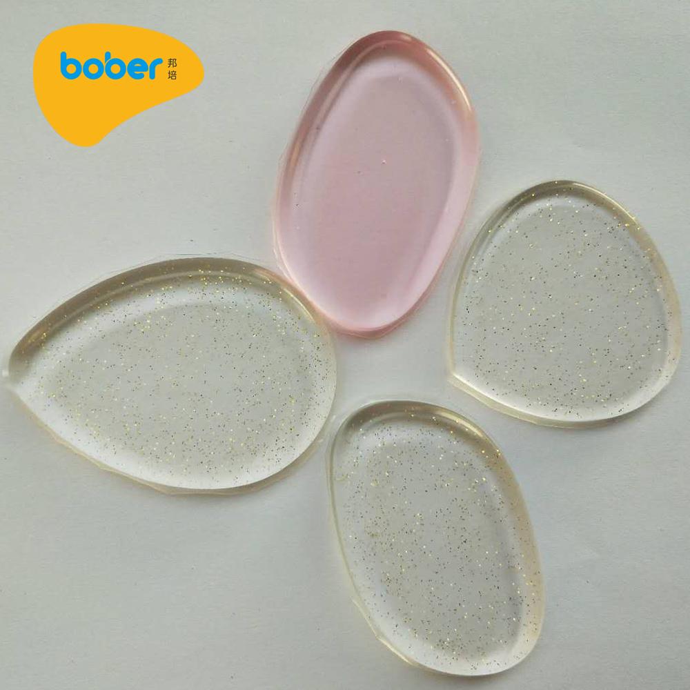 Ovila Silisponge Oval Silicone Makeup Puff Glitter Update Daftar Bening Sponge Transparant Safe
