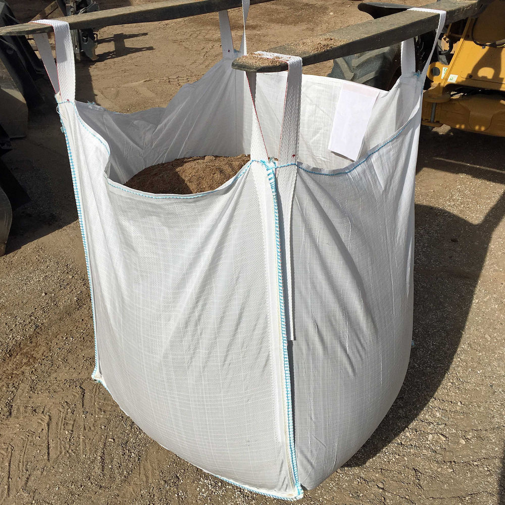 100% pp woven used 1 ton jumbo big bag for sand ,cement and chemical