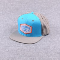 6 panel embroidery mesh sport cap custom