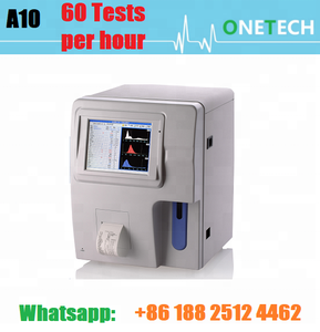 Hot model CBC test machine price better than Mindray / Portable blood  analyzer to count WBC, RBC&PLT 3 part diff A10