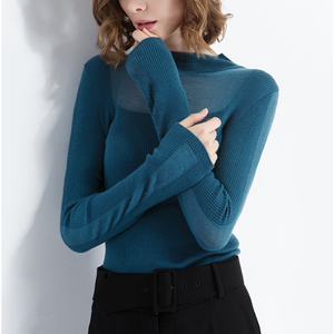 or20449a 2018 autumn and winter hot sale knitting shirt cashmere sweater women cloth factory