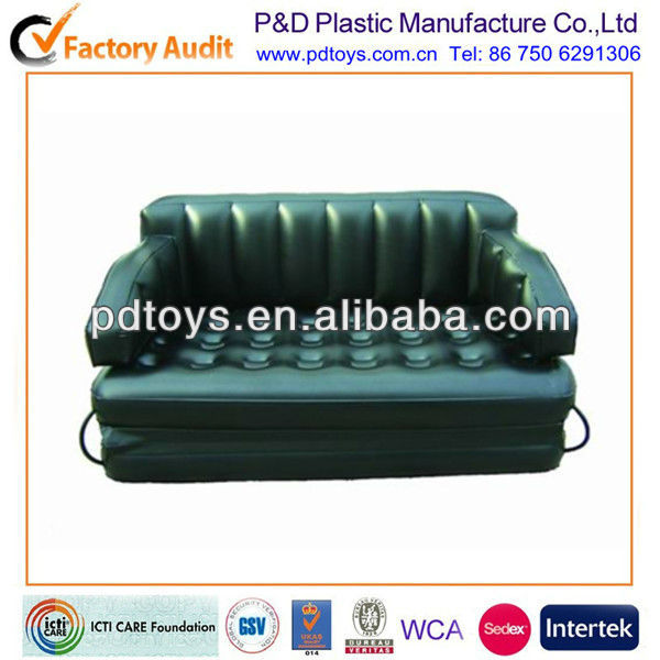 Multi-purpose 5 in 1 inflatable air sofa bed for sales
