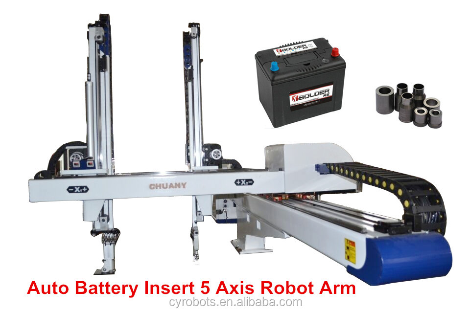 Cylinder robot arm Engineers available to service machinery overseas After-sales Service Provided and New design robot arm