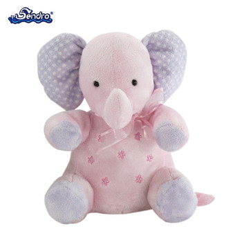Big Ears Stuffed Animal Soft Pink Elephant Toy For Kid Buy Pink