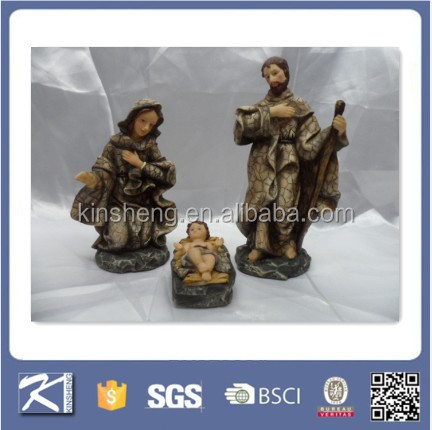factory price wholesale resin christian religious items