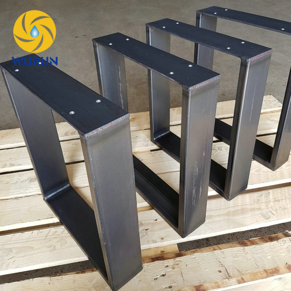 table desk metal legs square store