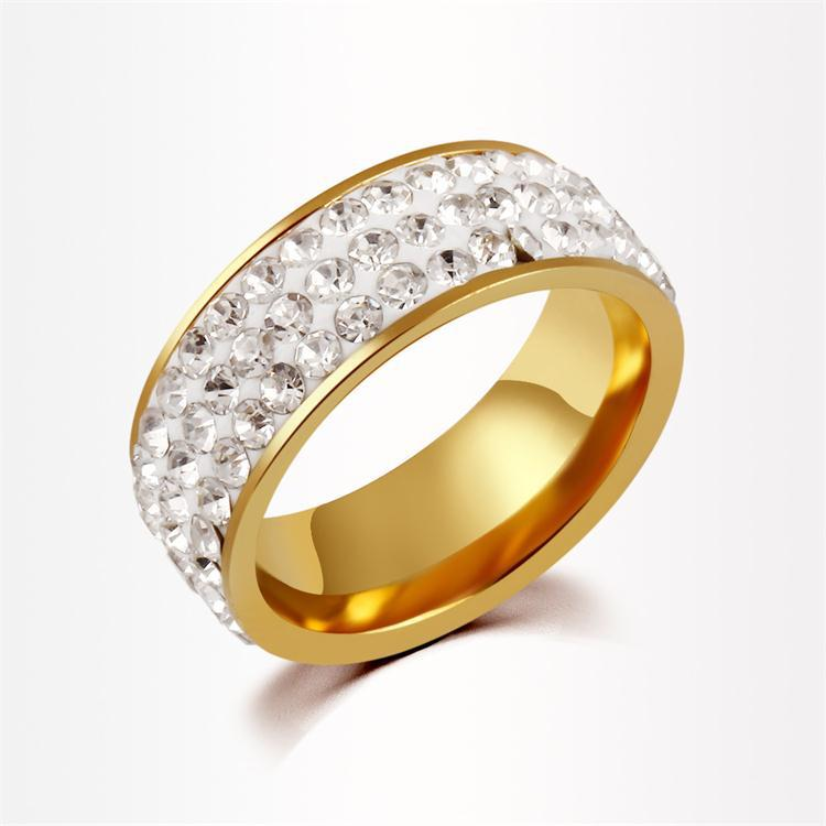 Fashion Jewellery Crystal Pave Ab Mud Color Polymer Clay Gold ...