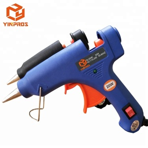 Most Popular Factory Wholesale 20W DIY Craft Hobby Electronics Mini Hot Melt Glue Gun Use with Glue Sticks