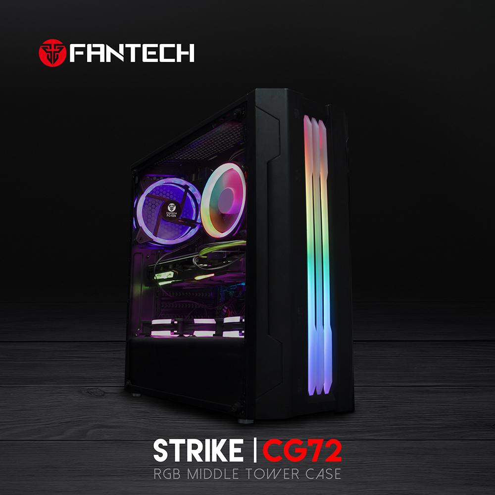 FANTECH STRIKE CG72 RGB Middle Tower Case 4