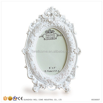 Resin Oval Picture Frames Wholesale For Decoration Wedding - Buy ...