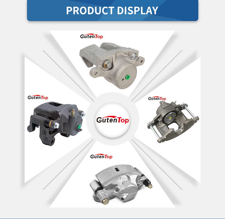 Cast iron and Aluminum alloy Material and ISO9001:2008 TS16949 Certification G55 racing brake caliper 41001 57G00   41011 57G00