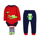 Hot Selling Baby clothes spring and autumn children's romper infant clothing