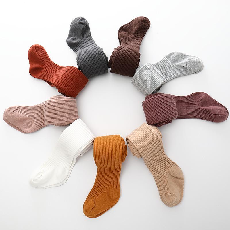 Alibaba.com / Ins Wholesale Winter Hosiery Pantyhose Baby Legging Children Socks Tights Cotton Girls Ribbed Kids Tights