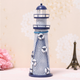 Large medium and small flash ocean iron crafts iron lighthouse Mediterranean creative desktop decoration gift