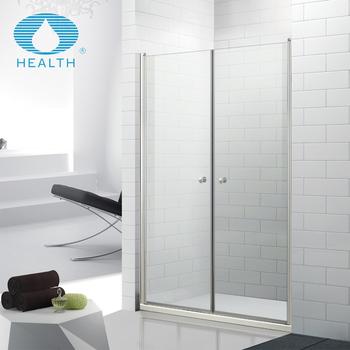 Hot Sale Frameless Double Pivot Shower Door - Buy Pivot Shower ...
