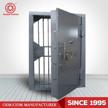 High Quality Metal Bank Security Door Safe Steel Vault Door & High Quality Metal Bank Security Door Safe Steel Vault Door - Buy ...