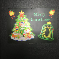 Merry Christmas Tree Design Light Up Flashing Led El Panel T Shirt ...