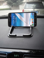 2014 the most popular PU mobile phone stand for car