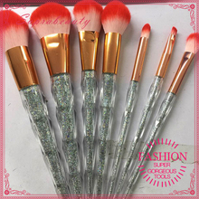 High End 10pcs diamond Glitter brush sets unicorn makeup brushes