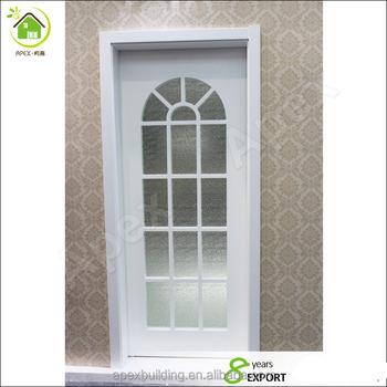 Weiße Farbe Gewölbte Eingangstür Design Badezimmer Dusche Glastüren ...