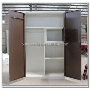 Perfect Diwali Hot Sale Modern Steel Almirah / Hanging Clothes Storage Cabinet