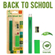 3 in 1 Eco Friendly High Quality China School Stationery Set for Kids
