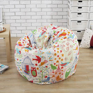 washable Living room comfortable 9 colors Lycra puff bean bag chairs wholesale