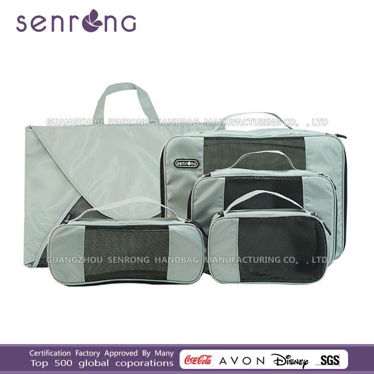 custom all kinds of packing cubes/Travel Cube Organizer camel travel bag
