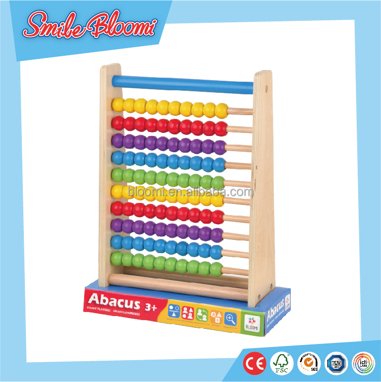 Children's educational top quality abacuses wood