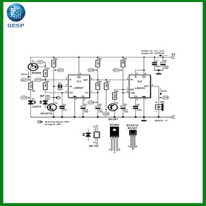 Electrical generator avr circuit diagram schematic pcb design