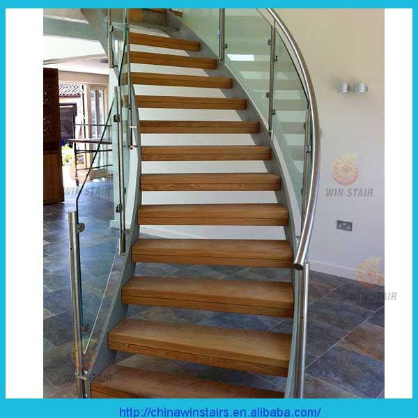 steel wood stairs