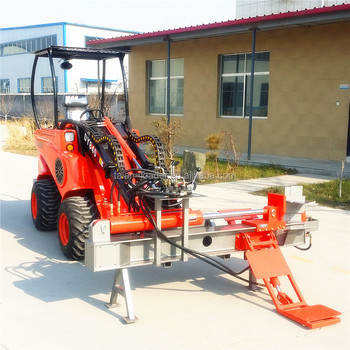 Backhoe Loader Compact Tractor Front For Small End Made