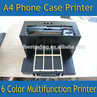 Directly Printing Machine--Directly Printing Machine DTG Cell Phone Case Printer-6 Color Cell Phone Case Printer Economical Fl