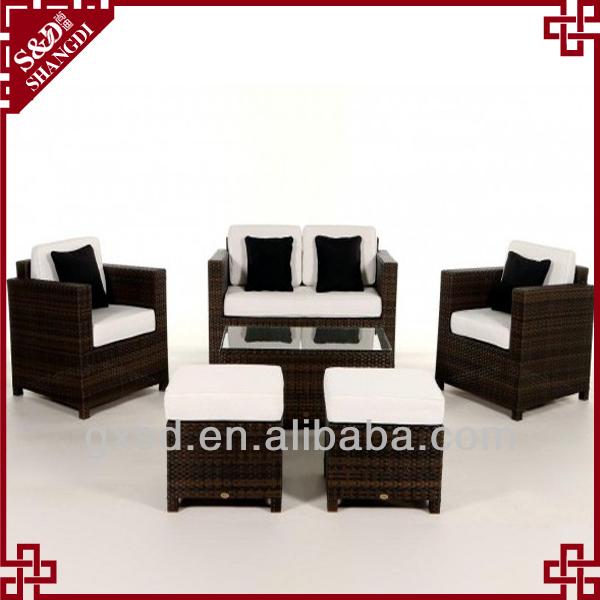 S d artesan a rat n estilo pa s sof s muebles sof s para for Muebles encantadores del pais elegante